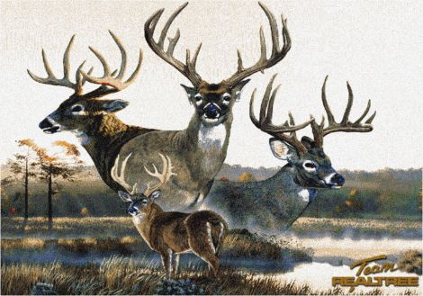 Monster Buck 6 Realtree Collection Area Rug