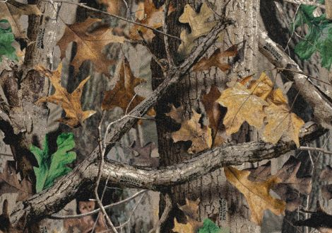 New Timber Solid Camo Realtree Collection Area Rug