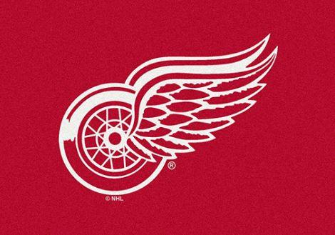 Detroit Redwings NHL Team Spirit Rug