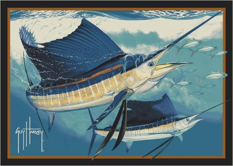 Sailfish Guy Harvey Collection Area Rug