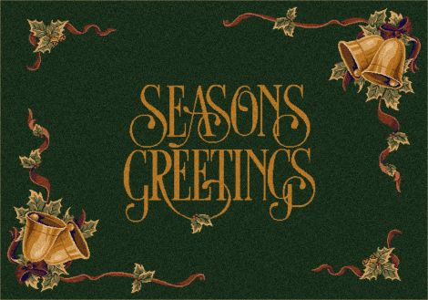 Season'S Greetings Wintergreen Holiday Collection Area Rug
