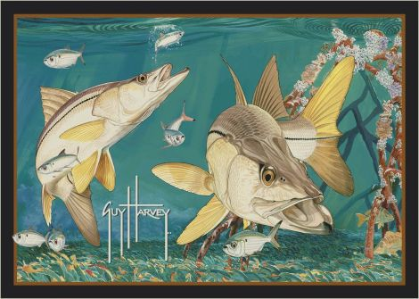 Snook Guy Harvey Collection Area Rug