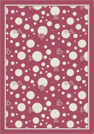 Sweetheart Field Theme Rugs 2 Collection Area Rug
