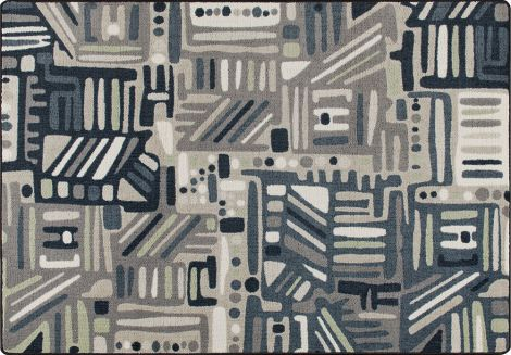 Urban Order Bayside Mix & Mingle Collection Area Rug