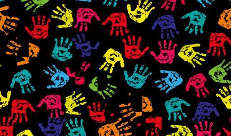 Handprints Mat
