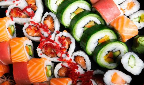 Asian Cuisine Sushi Mat