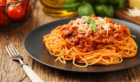 Italian Cuisine Spaghetti Mat