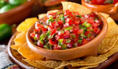 Mexican Cuisine Chips & Salsa Mat