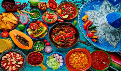 Mexican Cuisine Table Mat