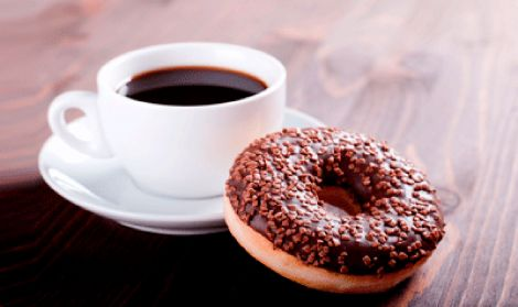 Coffee & Donut Mat
