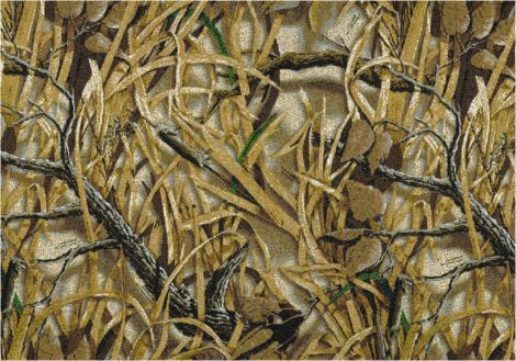 Wetlands Solid Camo Realtree Collection Area Rug