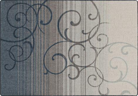 Whispering Wind Bluestone Mix & Mingle Collection Area Rug