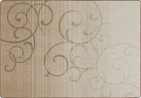 Whispering Wind Clay Mix & Mingle Collection Area Rug