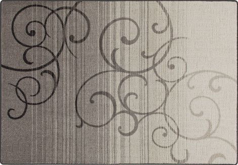 Whispering Wind Pewter Mix & Mingle Collection Area Rug