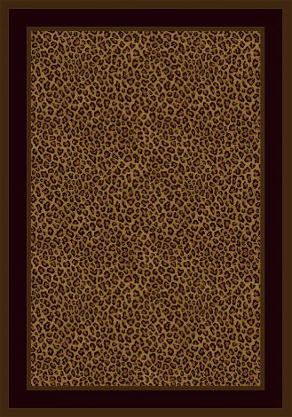 Zimbala Leopard Innovations Collection Area Rug