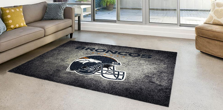 NFL Sports Rugs are perfect for your room or man cave. The high definition logo printing process shows off your favorite NFL team with stunning detail. These rugs are sure to show your team spirit this NFL season.